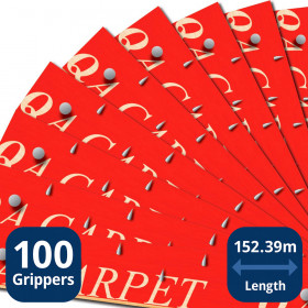 100 Boxed Carpet Grippers
