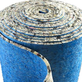 10mm Thick PU Foam Luxury Carpet Underlay Roll