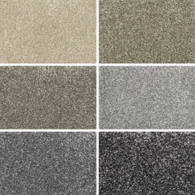 Fraser Felt Backed Saxony Carpet - Grid