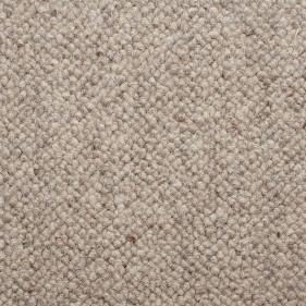 Ash Grey 920 Corsa Berber 100% Wool Carpet Remnant