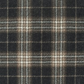 Moleskin Grey Traditional Tartan Queensville Wilton Carpet